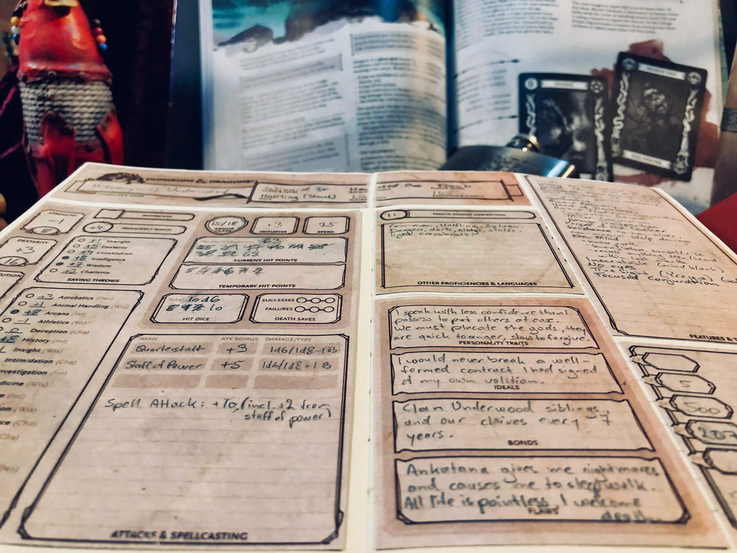 Curse of Strahd Game Notebook // Mottokrosh Machinations